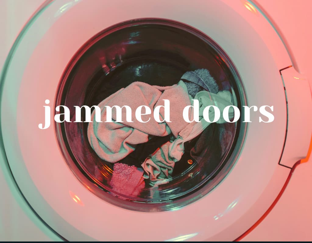 jammed door washing machine problems and solutions