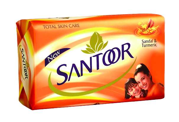 Santoor Soap with TFM value
